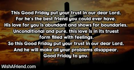 Good Friday Poem