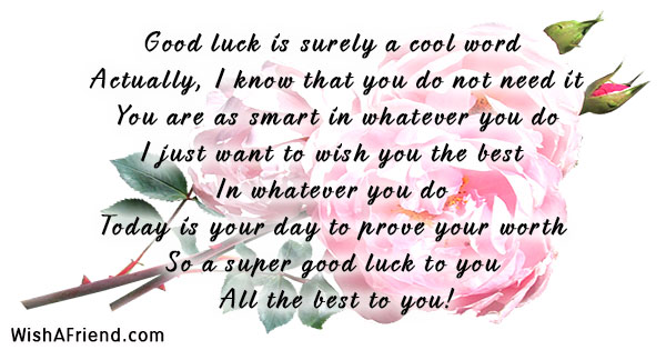 Good Luck For Exams Page 4