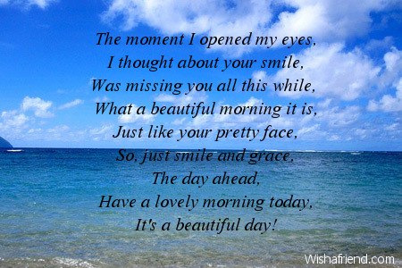 Image result for good morning poem