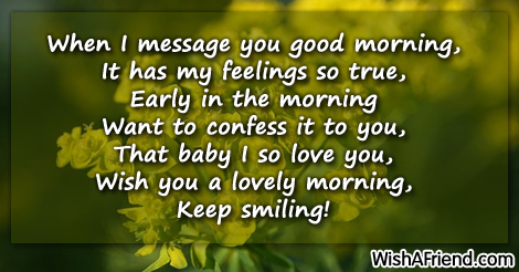 Sweet good morning messages page 5 9183 sweet good morning messages m4hsunfo