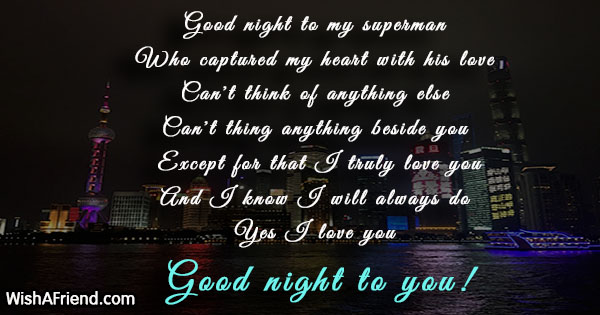 Good Night Messages For Boyfriend Page 3