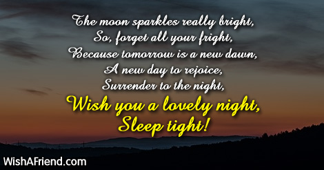 8805 Sweet Good Night Messages