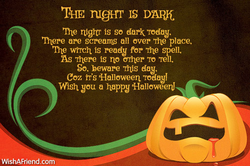 9560 Halloween Poems
