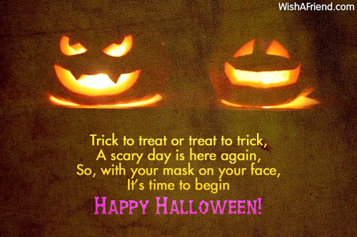 Superbe 9576 Halloween Messages