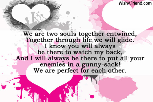 Souls Entwined , Romantic Poem