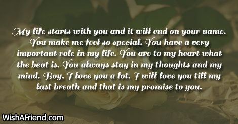 My life starts with you and Love Letters for Him