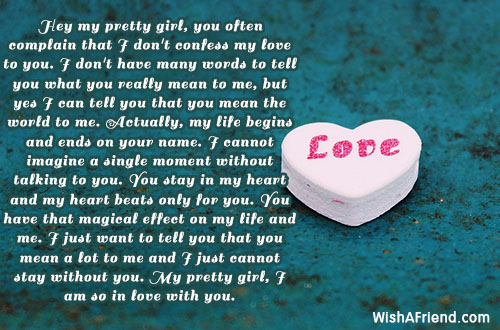 Image result for valentines day letters for her