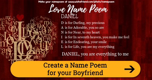 Best Friend Name Poem, Make An Acrostic Name Poem for Your BFF