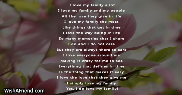 family-poems-24912