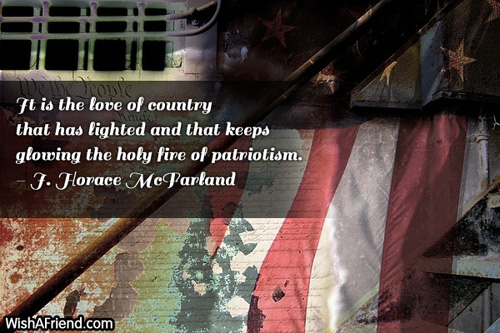 4thjuly-It is the love of