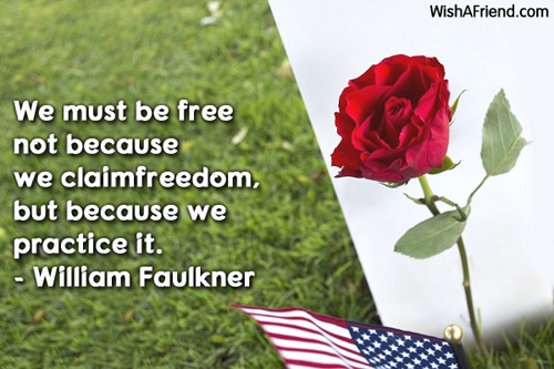 4thjuly-We must be free not