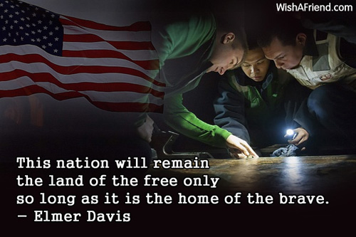 This Nation Will Remain The Elmer Davis Quote