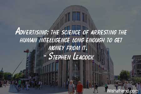 advertising-Advertising: the science of arresting