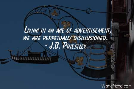 advertising-Living in an age of