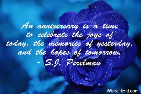 anniversary-An anniversary is a time