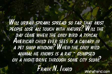 arborday-Will urban sprawl spread so