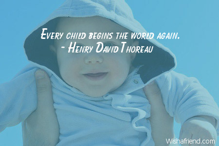baby-Every child begins the world