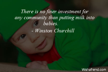 baby-There is no finer investment