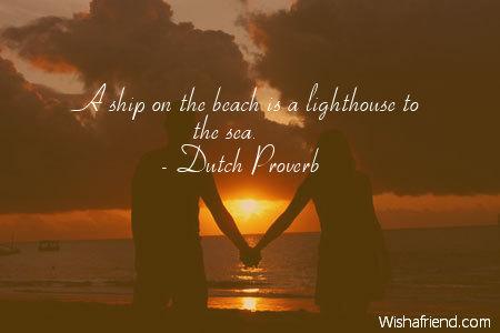 beach-A ship on the beach