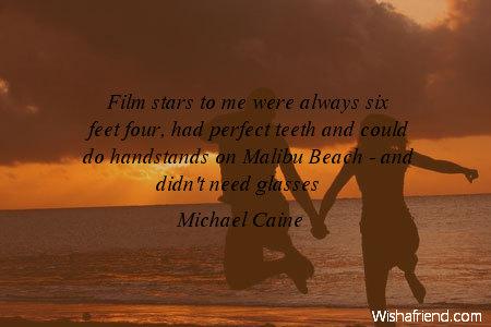 beach-Film stars to me were