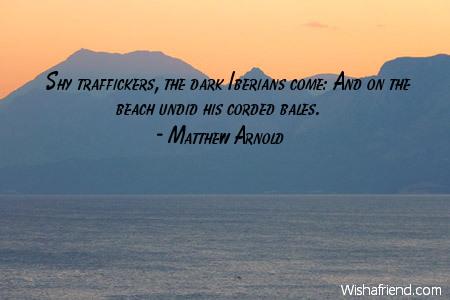 beach-Shy traffickers, the dark Iberians