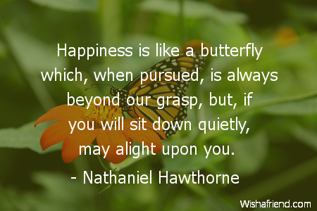 butterfly-Happiness is like a butterfly