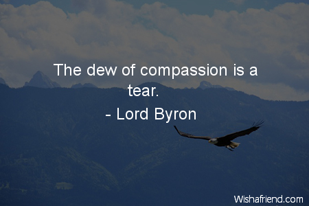 compassion-The dew of compassion is