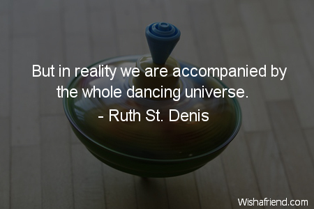 dancing-But in reality we are