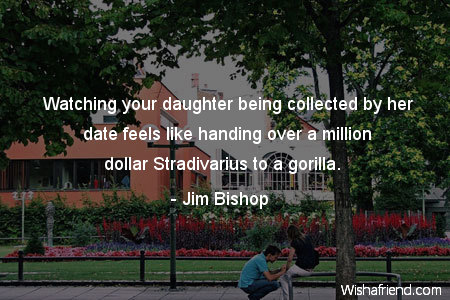 dating-Watching your daughter being collected
