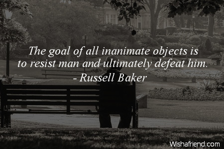 defeat-The goal of all inanimate
