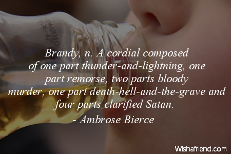 drinking-Brandy, n. A cordial composed