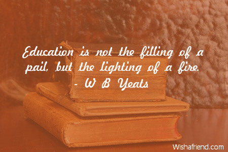 education-Education is not the filling