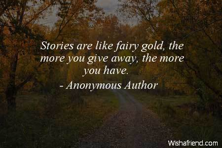 fairy-Stories are like fairy gold,