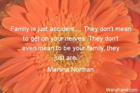 family-Family is just accident.... They
