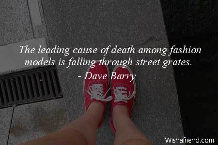 fashion-The leading cause of death