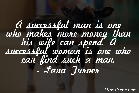 funny-A successful man is one