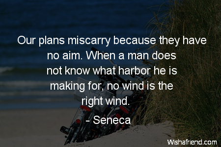 goals-Our plans miscarry because they