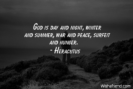 god-God is day and night,