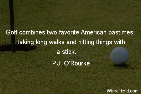 golf-Golf combines two favorite American