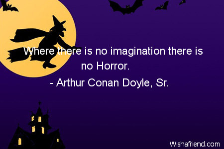 halloween-Where there is no imagination
