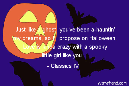 halloween-Just like a ghost, you've