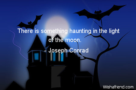 halloween-There is something haunting in