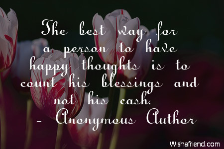 happiness-The best way for a
