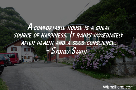 home-A comfortable house is a