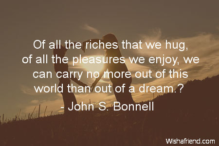 hug-Of all the riches that