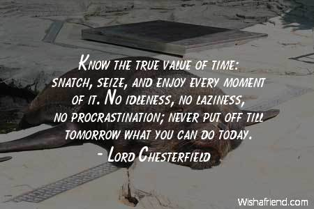 laziness-Know the true value of