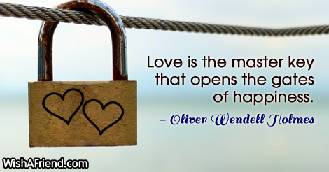 love-Love is the master key