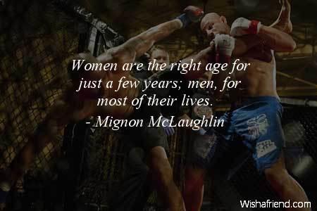 men-Women are the right age