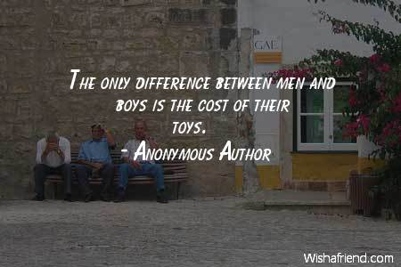 men-The only difference between men