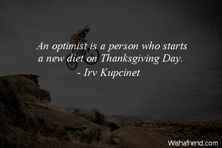 optimism-An optimist is a person